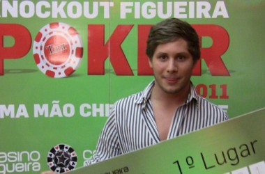 André Pais é o novo campeão do Knockout Figueira Poker Tour