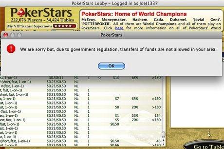 Noche sin americanos en PokerStars