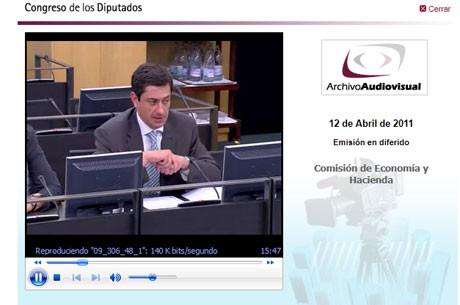 Vídeo de la sesión parlamentaria de aprobación del texto de la futura ley del juego