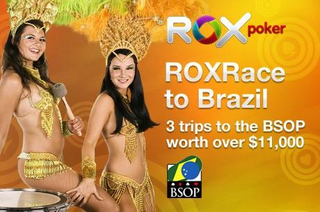 Эксклюзивная PokerNews гонка Rox в Бразилию уже началась...