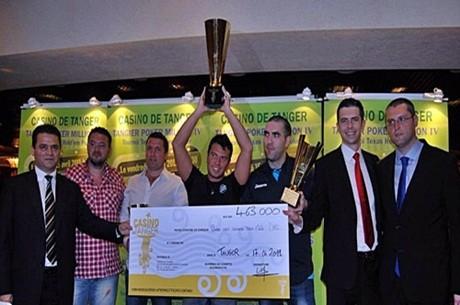 """Óscar """"La Púa"""" Blanco se proclama ganador de la cuarta edición del Tanger Poker Million"""