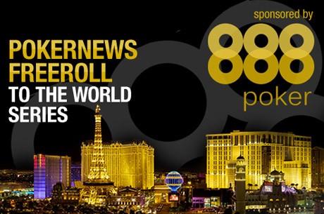 Бесплатный турнир PokerNews и 888 Poker на WSOP