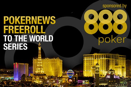 PokerNews Freeroll Til WSOP Med 888 Poker