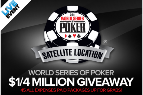 45 WSOP пакета от Tower Poker