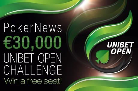 €30.000 Unibet Open Challenge Starter Imorgen