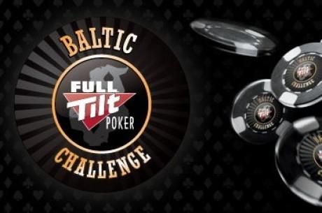 Full Tilt Poker.net Baltic Challenge - antrasis epizodas. Prie stalo baneris