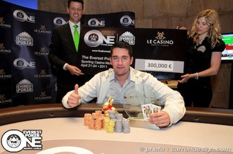 Julien Kabitzke es el ganador del Everest Poker ONE