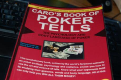 "Knygų lentyna: ""Caro's Book of Poker Tells"""