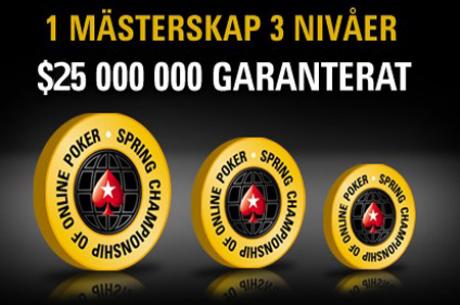 PokerStars ändrar schema och prispotter för 2011 års SCOOP