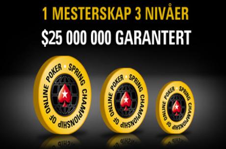 PokerStars Ændrer Præmiepuljer og Tidspunkter For SCOOP