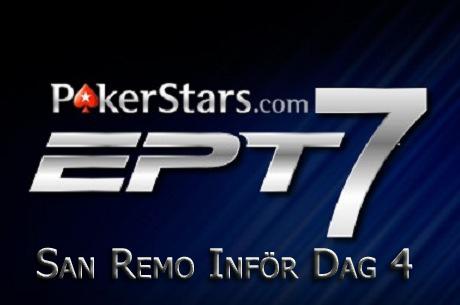 Haglund och Sjögren till dag 4 i PokerStars EPT San Remo