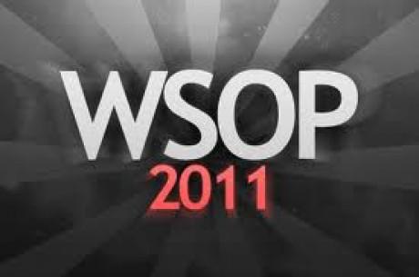 2011 WSOP를 한 달 남기고