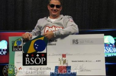 Ricardo Voltolini Vence a Etapa de Balneário Camboriú do BSOP 2011