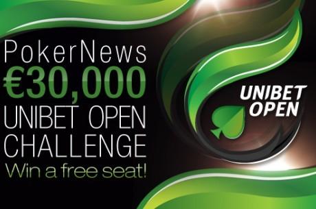 €1,000 Unibet Open фрийрол тази вечер от 21:00