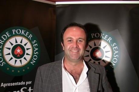 PokerStars Solverde Poker Season: Piergiorgio D'Ancona é o Líder