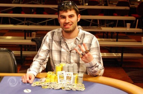 Debiutant WSOP 2011 - Kyle Cartwright