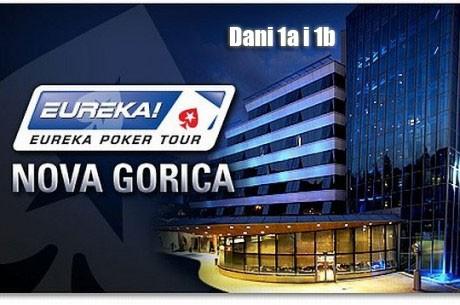 Završeni Dani 1a i 1b Eureka Poker Tour Nova Gorica Main Event