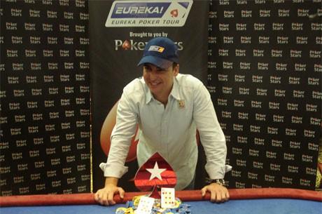 Antonio Rodrigez Diegueza osvaja Eureka Poker Tour Nova Gorica Main Event
