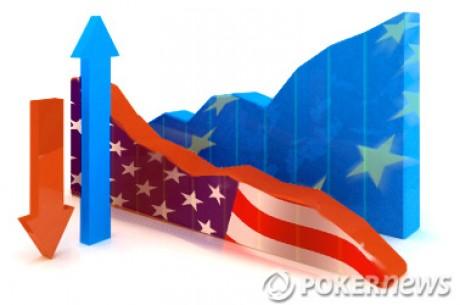 Rok 2011: Hernám PokerStars a Full Tilt Poker klesl počet hráčů o čtvrtinu