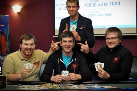 """""""Pokertainment"""" pristatymo turnyre - ekrano žvaigždės ir geriausi Lietuvos pokerio..."""