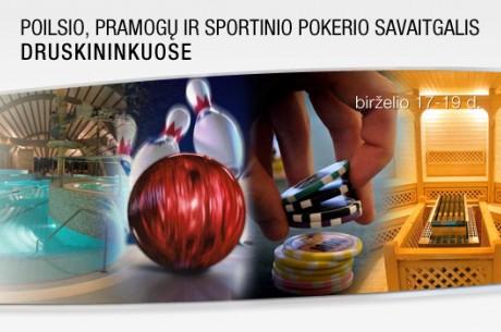 """""""Druskininkai Summer"""" čempionato programa, prizai bei nauji Druskininkų savaitgalio..."""