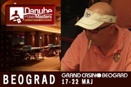 Milovan Šare Šarčević čip lider finalnog stola DANUBE POKER MASTERS Main Event-a