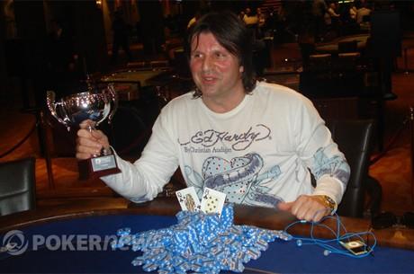 Slobodan Ružičić je Danube Poker Masters Šampion