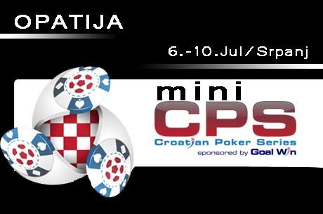U OPATIJI od 8-10 Jula/Srpnja Mini Croatian Poker Series