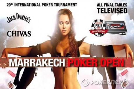 Marrakech Poker Open XX : premiers résultats