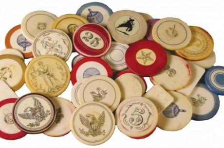 Istorijos kampelis: Pokerio žetonai