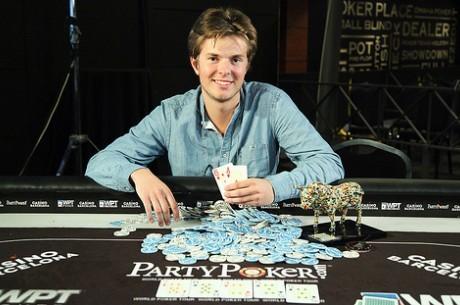 Titul WPT si ve Španělsku připsal mladičký Lukas Berglund