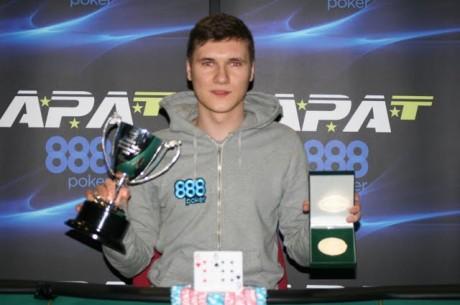 Lukas Dasynski Wins APAT Welsh Amateur Poker Championships