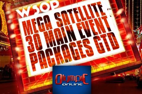 Ar Olympic-Online tev ir iespēja laimēt kādu no 30 WSOP paketēm!