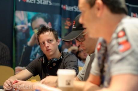 Matt Perrins Leads Event #9: $1,500 2-7 Draw Lowball Final