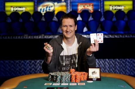 WSOP Evento #8:Sean Getzwiller Conquista a Bracelete ($611,185)