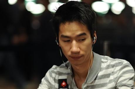 Ο Randy Lew συζητάει ένα χέρι του World Series of Poker