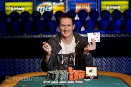 WSOP 2011 dag 9: Anders Meli nr 3 av 10 i øvelse #12  - Geffrey Klein vant $1.500 No-Limit...