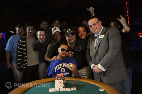Finaliza la décima jornada de las World Series of Poker 2011