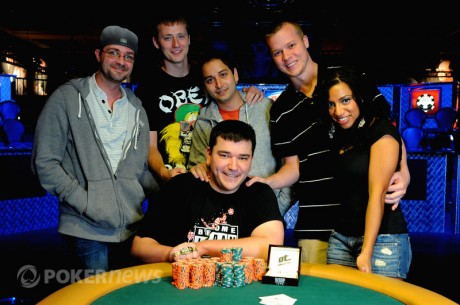 World Series of Poker Día 13: Steury gana un brazalete en el 1.500 $ H.O.R.S.E.