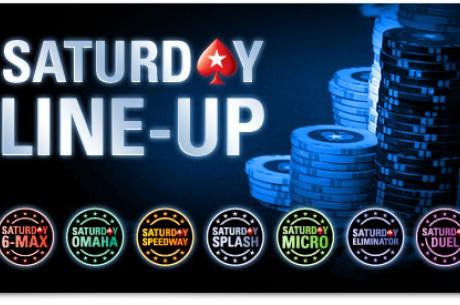 Нови съботни турнири в PokerStars