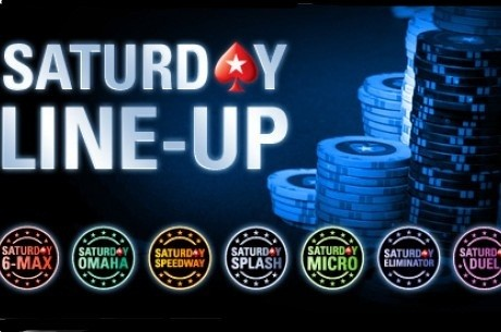PokerStars med Saturday Line Up: Lave innkjøp, store premier