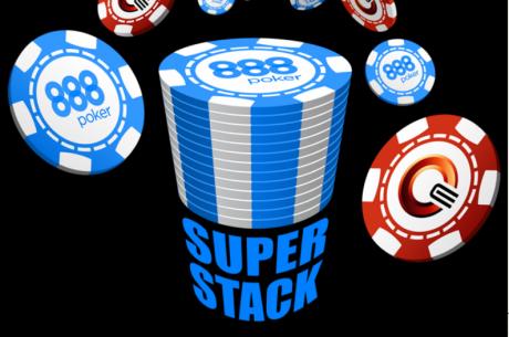 Jau rīt Rīgā, Royal Casino, startēs 888Poker SuperStack divu dienu turnīrs