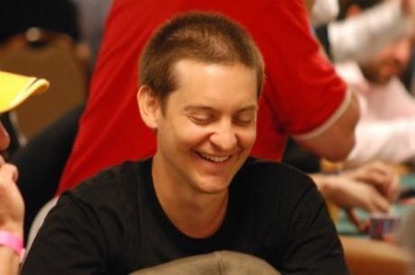 Acusan a Tobey Maguire por participar en juegos ilegales de poker