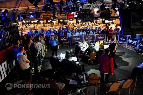 Fem spelare kvar i WSOP Event #36 - $2,500 No Limit Hold´em