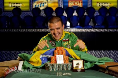 Andre Akkari спечели първа златна гривна и $675,117, Rep Porter...