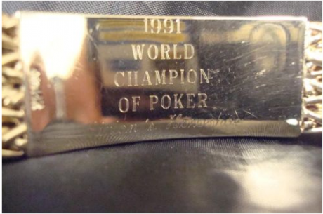 Поредната WSOP гривна за продан