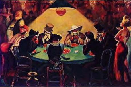 Ne visai rimtai: pokeris mene