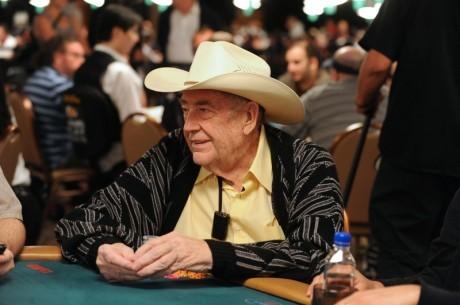 Doyle Brunson、今年WSOPのメーンイベントに不参!