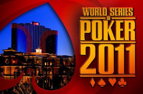 WSOP 2011 - Harald Olsen på finalebordet ved $1.000 NLH