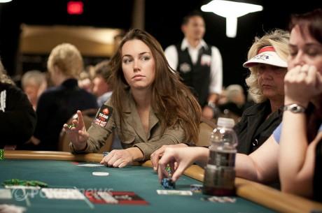 Uma mão das WSOP com Liv Boeree